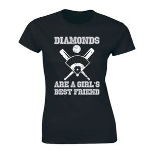 Diamonds Are A Girl's Best Friend Oakland T-shirt